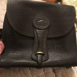 Dooney and Bourke Vintage Black leather handbag